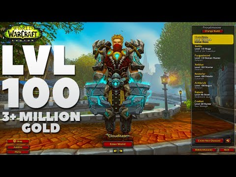 Legion: My WoW Character List! Level 110 | Patch 7.2.5 Update 2017 (World of Warcraft)