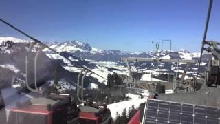 Fieberbrunn Austria 2012: Alps Ski Resort: Austrian Chalet