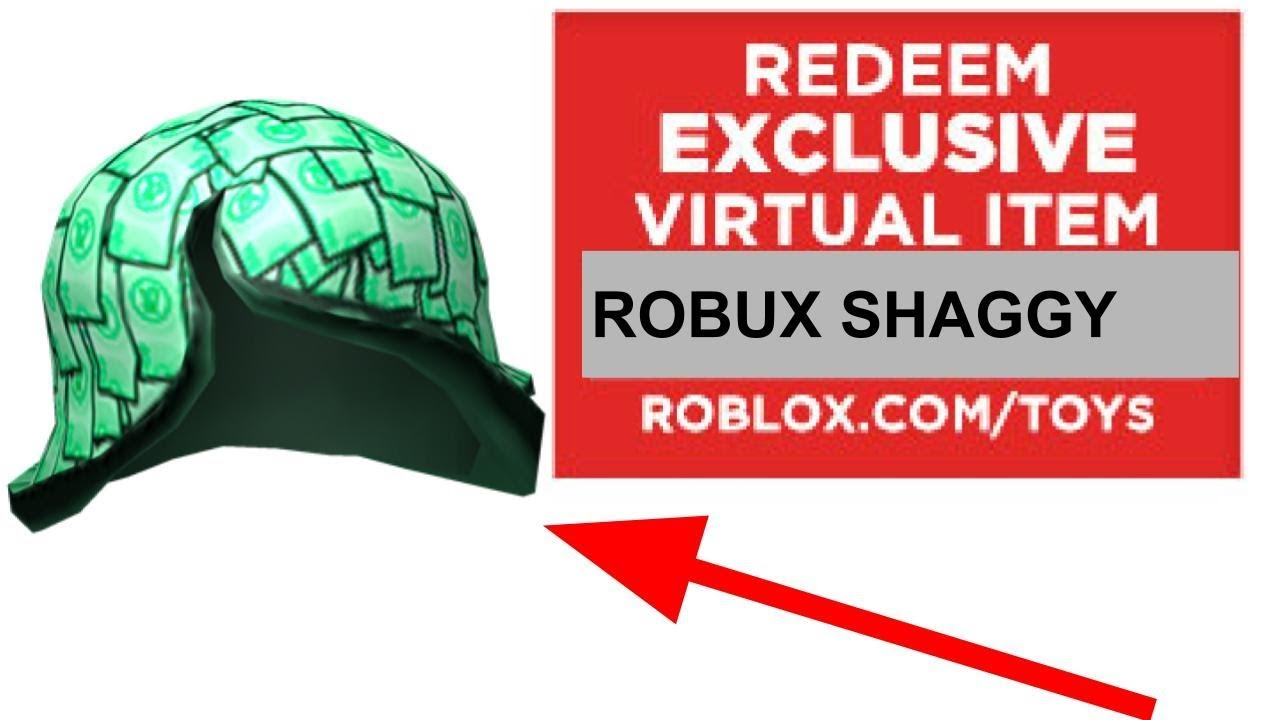 How To Get The Robux Shaggy Roblox Youtube