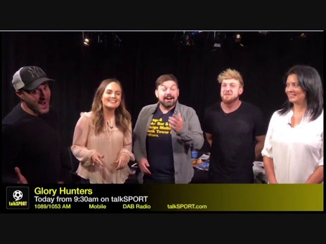 Talksport Glory Hunters Worst Show Ever Looking Through Natalie