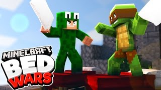 Minecraft Bed Wars - PILLOW FIGHTT!!