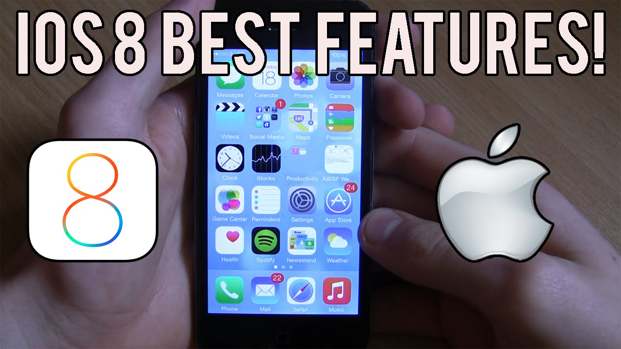 IOS 8:Best And Most Useful Features Of IOS 8! (IOS 8 Tips)