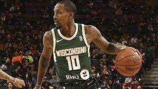 Brandon Jennings NBA G League Highlights: February 2018