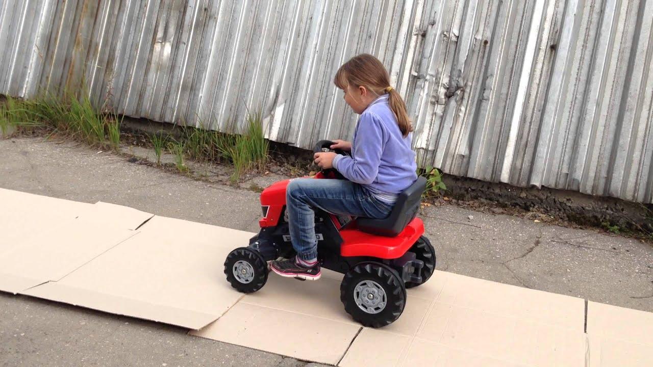 Детский электромобиль трактор John Deere Ground Force Peg Perego .