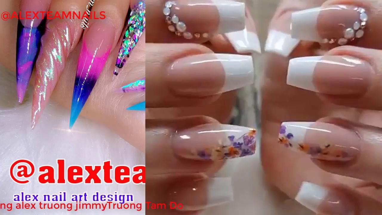 alex nail art design/NEW NAIL ART 2017/ALEX TRUONG NAIL DESIGN/JIMMY ...