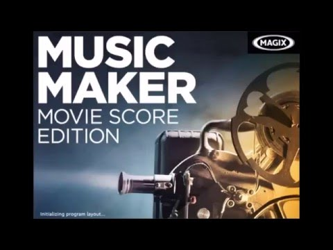 Magix Music Maker - Movie Score 8 Soundpool First Arrangement