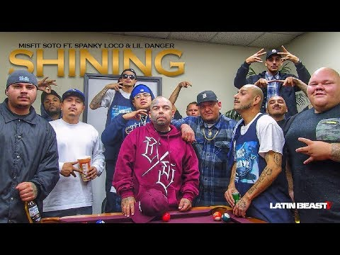 Misfit Soto Ft. Spanky Loco & Lil Danger - Shining (Official Music Video)