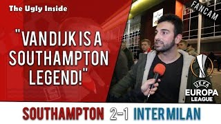 """van dijk is a southampton legend!"" 