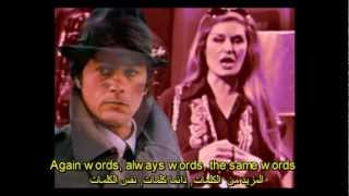 Dalida & Delon - Paroles Paroles 2012 (remix) English subtitles ترجمة عربي