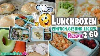 Einfache Rezepte für die Lunchbox | Monsieur Cuisine | mamiblock