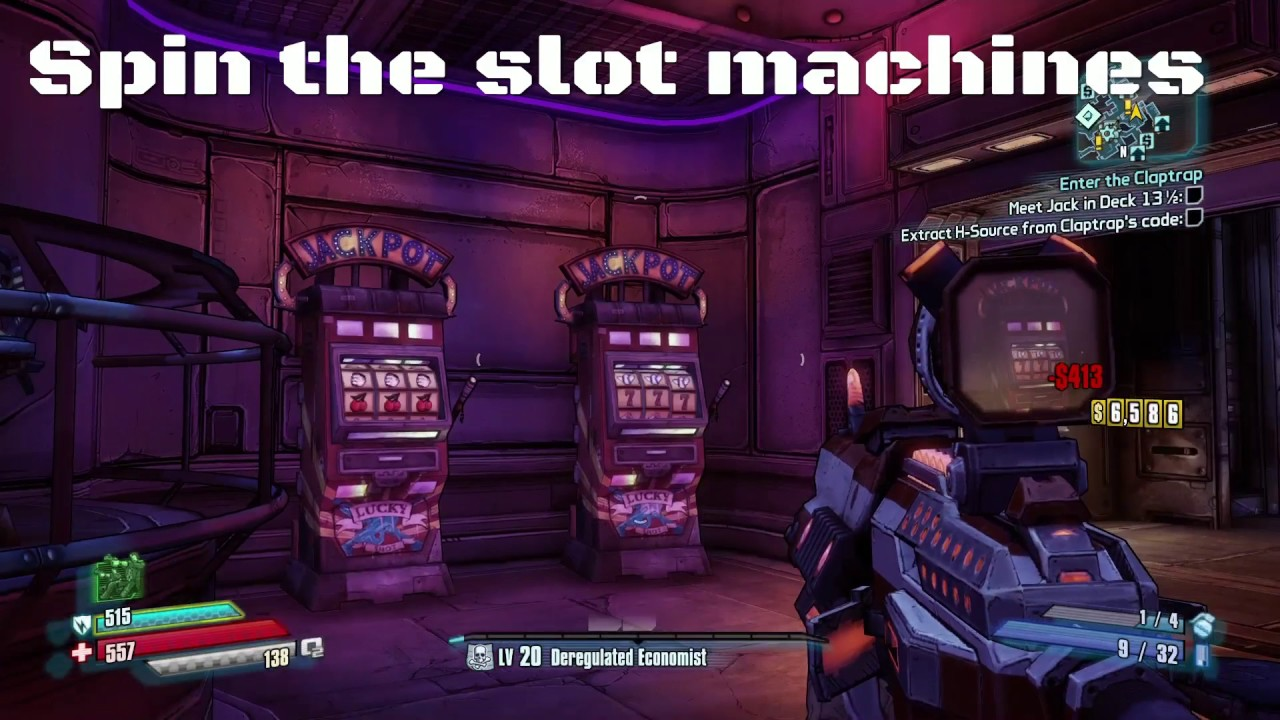 Cheat the slot machine borderlands 2 casino game roulette play