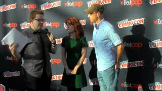 New York Comic Con 2013: Eagleheart Cast Interview