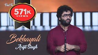 Bekhayali (First Time) | Arijit Singh Live |  IIFA Award 2019