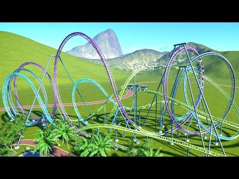 WORLD'S BIGGEST ROLLER COASTER! (Planet Coaster #5)