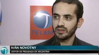 Acuerdo entre Télam y la agencia internacional Pressenza