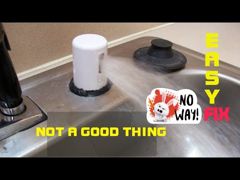 kitchen air gap outdoor frames dishwasher leaking water at quick fix youtube