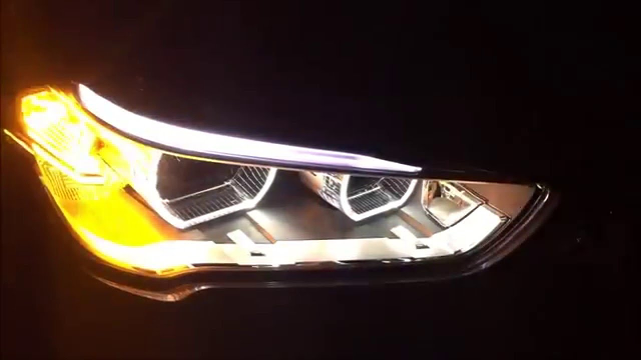 bmw x1 f48 xdrive 25i turn signal front led youtube. Black Bedroom Furniture Sets. Home Design Ideas