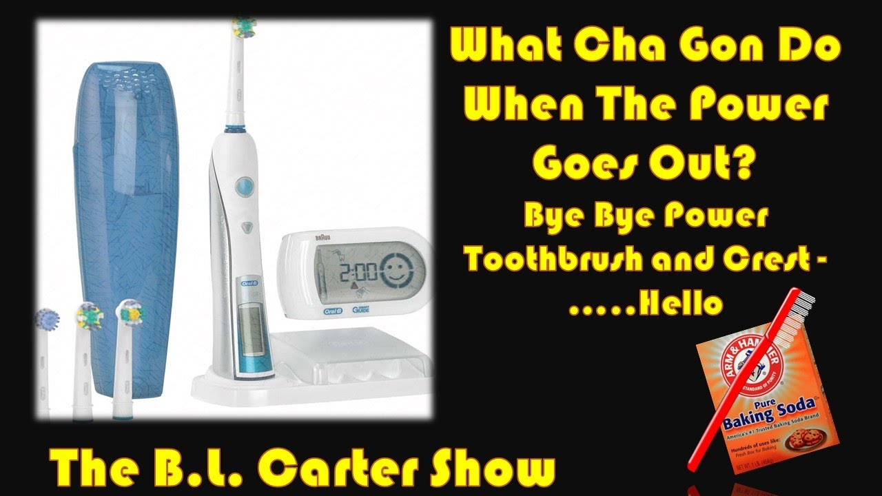 BYE BYE POWER TOOTHBRUSH