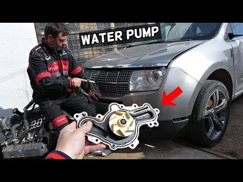lincoln mkx water pump location replacement explained youtube 2013 Lincoln Mkt Engine Diagram lane keeping system vehicle features