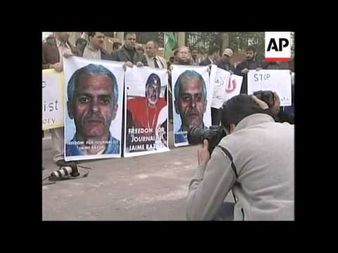 Palestinian journalists, Hamas  call for  release of Peruvian journalist