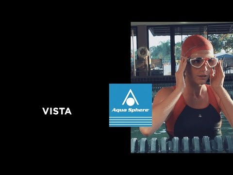 4033cedbe38 Aqua Sphere Swim Goggles - Vista - YouTube