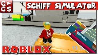 SCHIFF SIMULATOR III 🚢 Ich SAUFE AB! ► ROBLOX Dynamic Ship Simulator