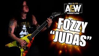 Fozzy - Judas (CHRIS JERICHO AEW music) INSTRUMENTAL METAL GUITAR COVER