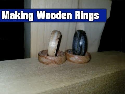 Making Wooden Rings out of Veneer