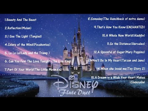 〔Professional〕Disney Songs Flute Duet Collection