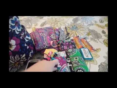 Changing of the purse: Jon Snow tote to Vera Bradley Pleated Tote