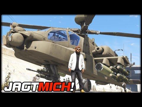 GTA 5 JAGT MICH! #93   AH-64D Longbow Apache   Deutsch - Grand Theft Auto 5 CHASE ME