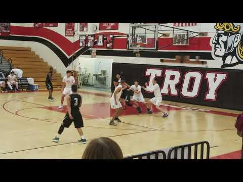 Troy vs Buena Park High School JV Basketball 01-09-2018 1stQ