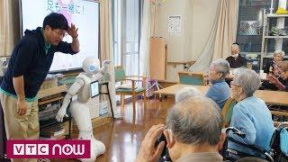 Hàn Quốc phát triển robot làm bạn với con người | VTC1
