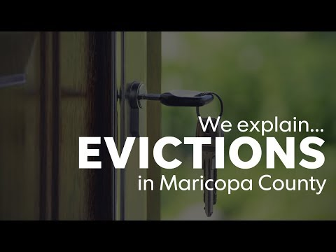 Evictions: How the process works in the Phoenix area