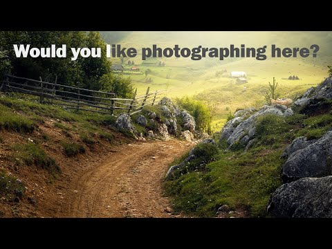 Sunrise Landscape Photography - You've never seen a place like this