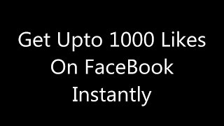 How to get More Likes On Facebook Profile Picture 2015  100% work Guarantee