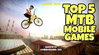Top 5 Mountain Biking Mobile Games for IOS and Android devices   MTB Gameplay