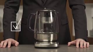 Инструкция, как очистить заварочную корзину. Чайник BORK K810