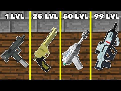 Как Прокачать Оружие до 99 уровня в Майнкрафт? Преступник против Зомби Апокалипсис Minecraft Мультик