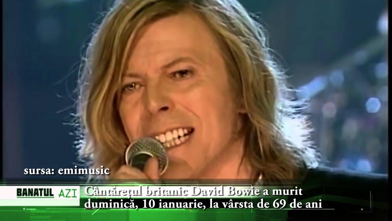 Ne-a părăsit o legendă a muzicii. Cântăreţul britanic David Bowie a murit