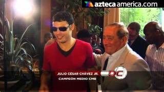 3 a 1 favorito Maravilla vs Julio Cesar Chavez Jr