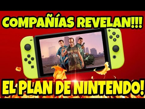NOTICIAAAS:WALLSTREET JOURNAL Y COMPAÑIAS REVELAN EL GRAN PLAN DE #NINTENDOSWITCH!!! Y MUCHO MAS!