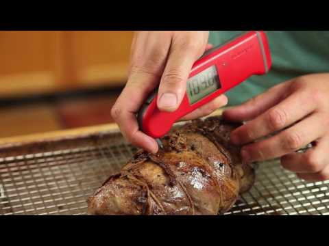 The Right Way to Use a Meat Thermometer