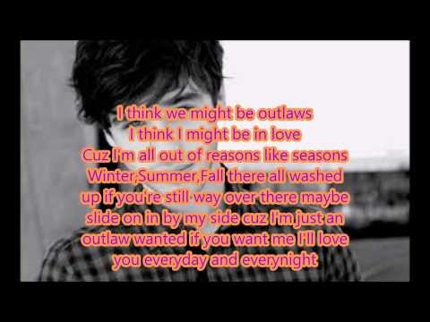 Outlaws lyrics video-David Lambert-The Fosters