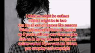 Outlaws lyrics video-David Lambert-The Fosters