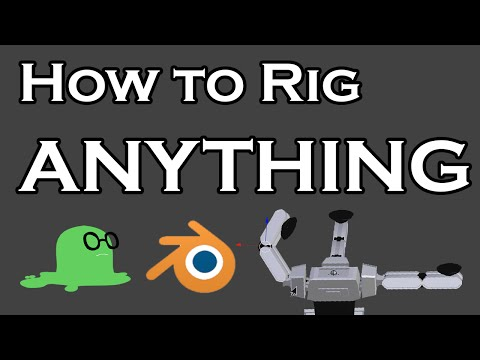 How To Rig ANYTHING In Blender - Part 1