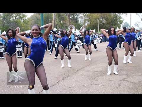 Jackson State University Marching Band  2017 Homecoming Parade #HOMECOMING