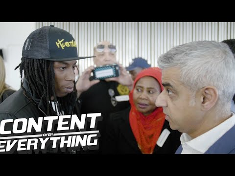 Raspect Speaks To Sadiq Khan On  | Stop & Search | Investing In Youth More & Less In Police