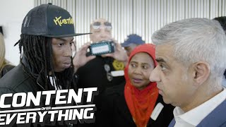 Raspect Speaks To Mayor of London Sadiq Khan On | Stop & Search | Investing In Youth...