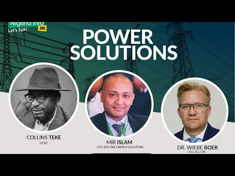 Monday, 5th October, 2020, Guest - Mir Islam,CEO, EM ONE Energy Solutions